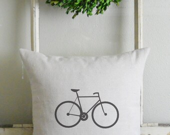 Bicycle 20 x 20 Pillow Cover_bike, gift, home decor, present, throw pillow, cushion cover_