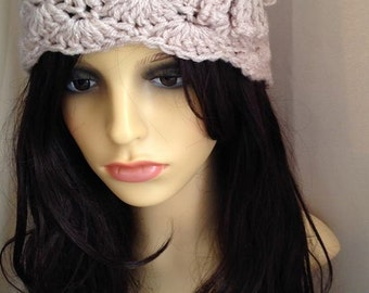 WOMEN'S BEANIE HAT, Crochet Hat, Chunky Beanie, Crochet Beanie, Winter Beanies