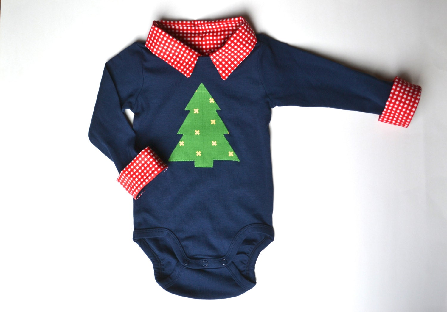 Baby Boy Christmas Outfit First Christmas Onesie Christmas