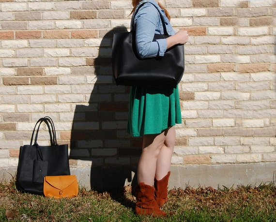 Everyday Tote - Leather tote Bag