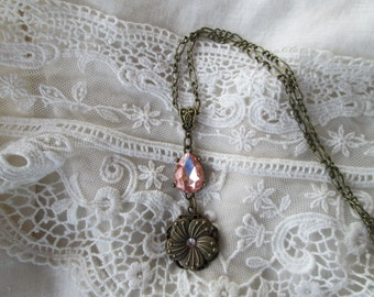 Romantic Victorian Pendant, The Past Inspires Your Style