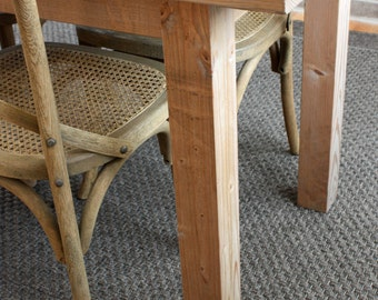 Reclaimed Wood Parsons Desk in Weathered Wood