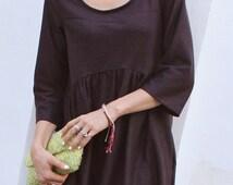 Gardenia Dress, WOMENS PDF pattern and tutorial - sizes xxs-xxl, sewing pattern - instant download