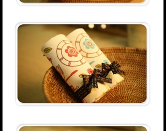 FREE SHIPPING in US / Wedding, Baby Shower, Birthday Unique Favors Very Fancy and High Quality Nordic Kitchen Wash Cloth