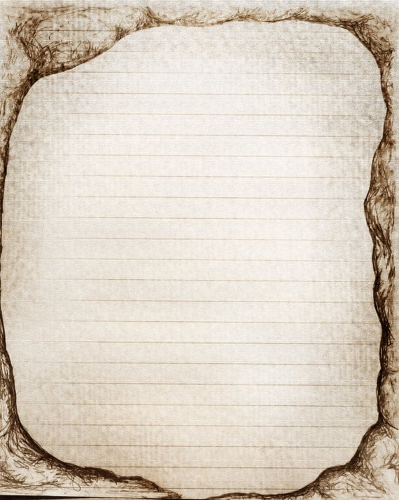 Free printable lined writing paper with fancy - Best Essay