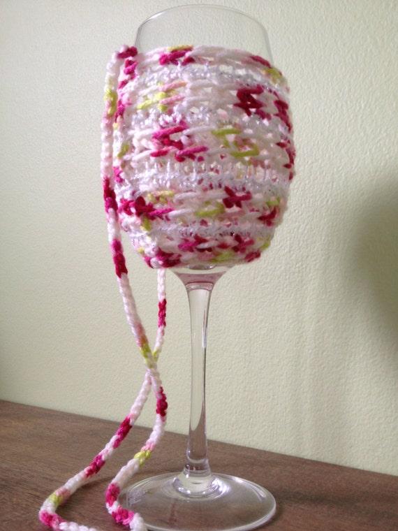 Crotchet Wine Glass Holder