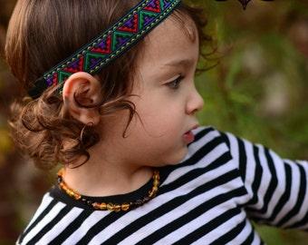 Tribal Headband - Boho Headband - Aztec Headband - Bohemian Headband - Hippie Headband - Boys Headband - Adult Headband - Headband