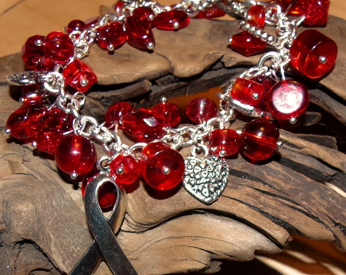 Red Awareness Bracelet