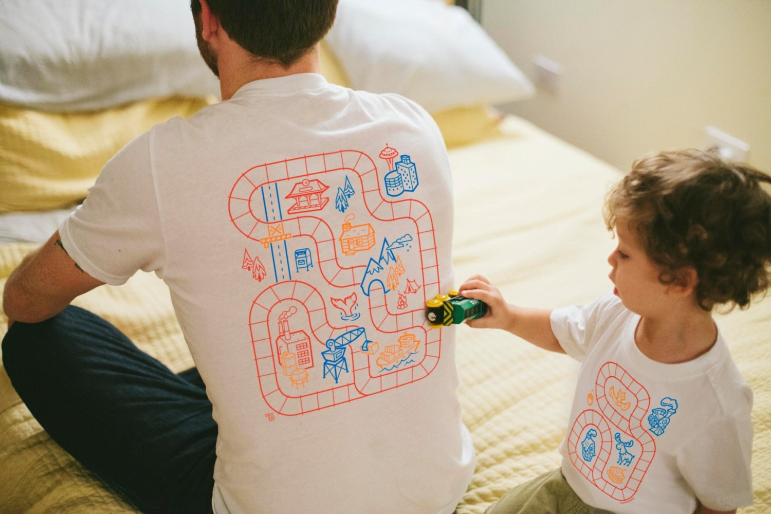 Father son matching shirts dad and baby matching shirts zoom negle Image collections