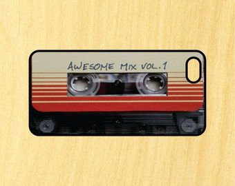 Awesome Mix Cassette Tape iPhone 4/4S 5/5C 6/6+ and Samsung Galaxy S3/S4/S5 Phone Case guardians of the galaxy