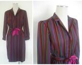 Vintage Striped Long Slee...