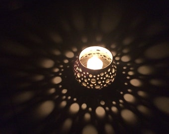 Beautiful Porcelain Made-to-Order Candle Holders