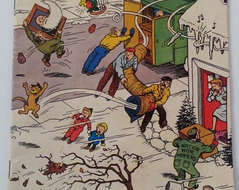 Vintage Treasure Chest Comic Book 1962 Vol. 17 #12