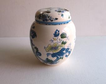 Antique Transferware Potpourri Holder Urn Shape