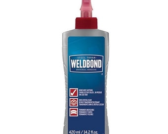 Weldbond Mosaic and Craft Adhesive / Glue, 14.2 oz