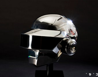 Daft Punk - Thomas Bangalter- Helmet Kit - Ver 2.0  -  Discovery / H.A.A or TRON Legacy / R.A.M