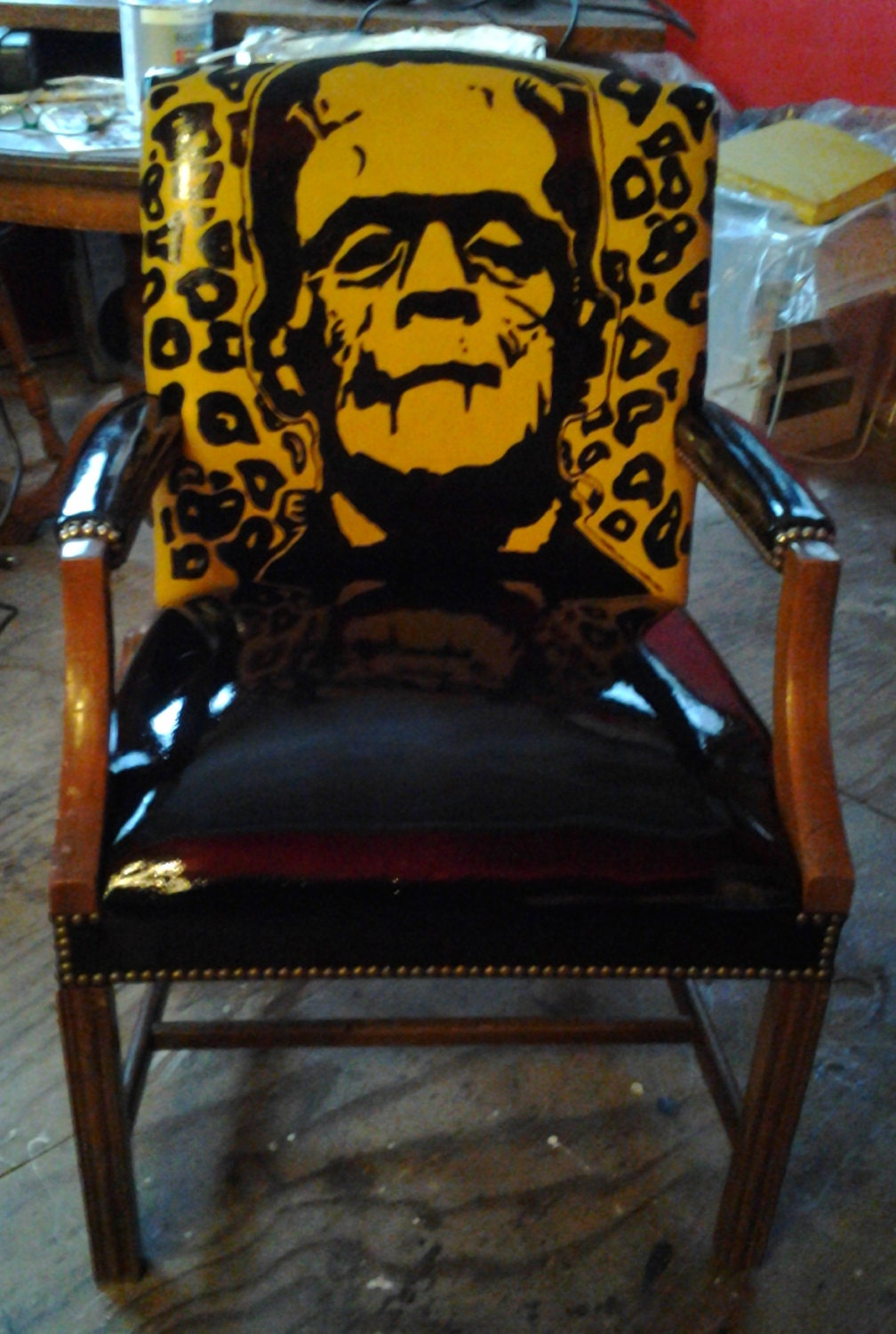 Frankenstein Chair Repurposed From Vintage Chair One Of A