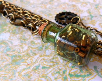 Steampunk Tinker Necklace