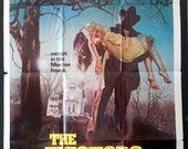 The Evictors - Vintage Horror Movie Poster - 1979 - Original - Vic Morrow