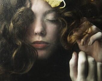 SALE Portrait,Figure Photograph,Fine Art Photography, Color Portrait,Contemporary Art