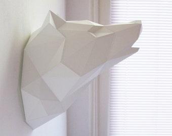 Paper Wolf Folding Kit