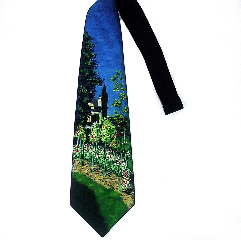 Hand Painted Silk Neck Ties