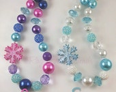 Frozen inspired necklace - Elsa or Anna