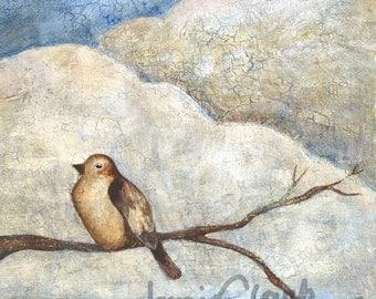 Bird on a Branch Print
