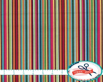 ROBOT Fabric by the Yard Fat Quarter GEARHEADS Fabric Stripe Fabric Blue Red Fabric Quilting Fabric Apparel Fabric 100% Cotton Fabric t6-25