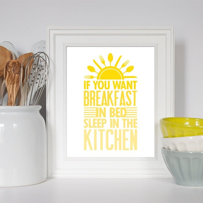 Kitchen art kitchen decor kitchen print 8x10 kitchen art for 8x10 kitchen designs