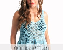 Popular items for easy tank pattern on Etsy
