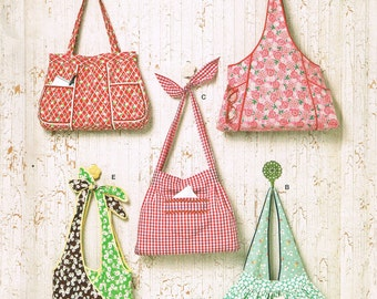 Tie Strap Shoulder Bag Pattern 58