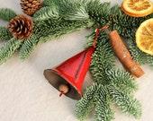 Red ceramic bells