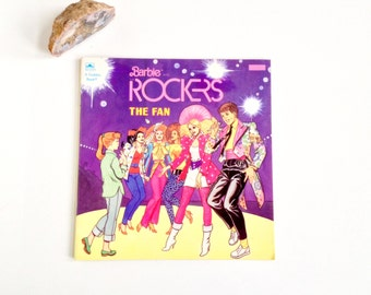 Vintage 1980s Barbie and the Rockers Book