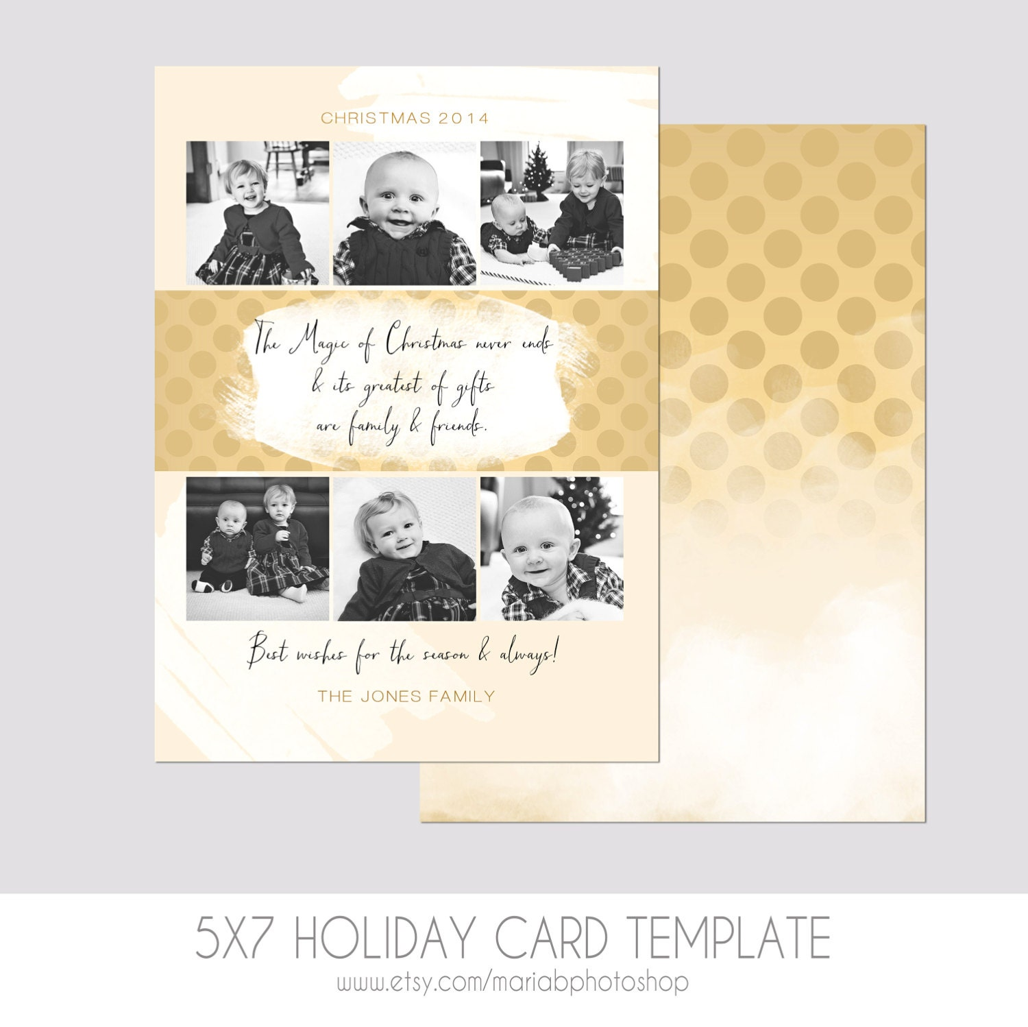 5x7 christmas card template modern photography template for 5x7 postcard mailing template