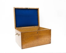 English Oak Silver Chest Made by Mappin & Webb