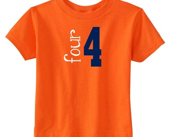 """Birthday Number Shirt 
