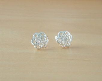 925 Celtic Knot Earrings/Sterling Silver Celtic Knot Stud Earrings/Celtic Jewellery/Celtic Jewelry/Silver Celtic Earrings/925 Celtic Knot