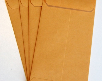Kraft Envelopes for Sports Ticket Invitations