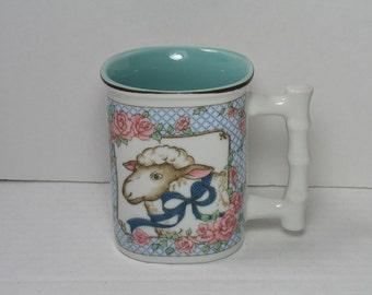 70s Six Flags Magic Mountain Mug Cup Coffee By