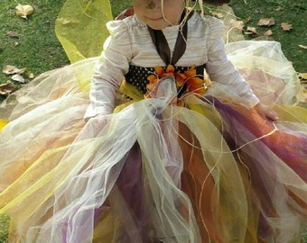Scarecrow Tutu Dress and Hat