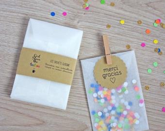 Glassine Bags 4,13 x 5,90 inch - Wedding Favor - Favor DIY - Gift Bag - Set of 20 -100