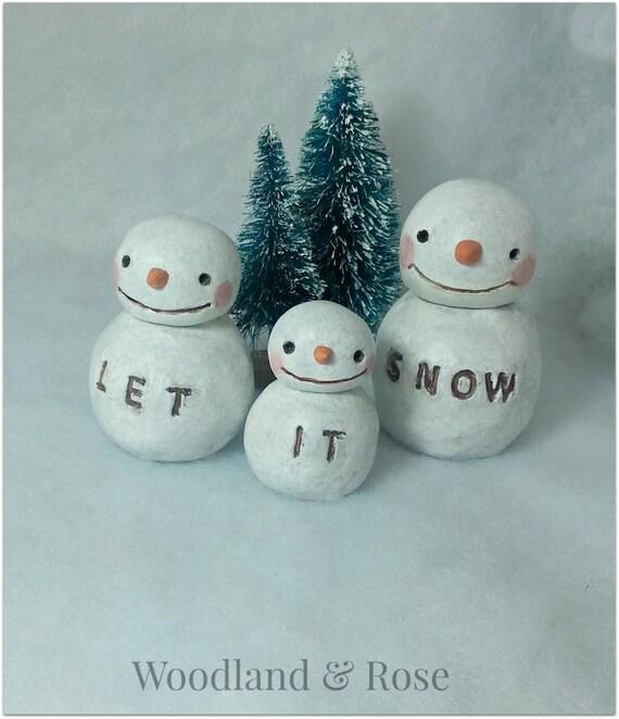 let it snow letter: