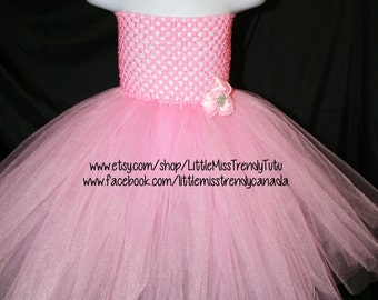 Pink Tutu Dress, Tutu Dress, Newborn to 6T Tutu Dress,  Pink Tutu Dress, Pink Tutu Party Dress