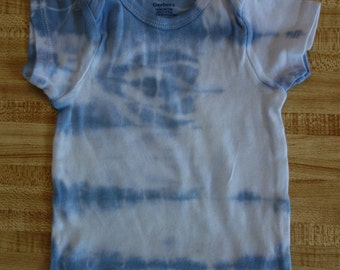 Tie Dye short-sleeve shirt - size 18 months - gray