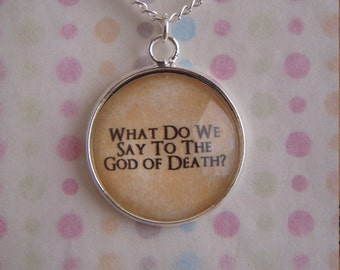 Game of Thrones God of Death Necklace