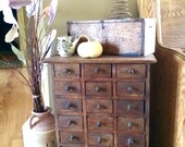 Vintage Apothecary Workbench Handmade Cabinet With Industrial Storage Cabinet