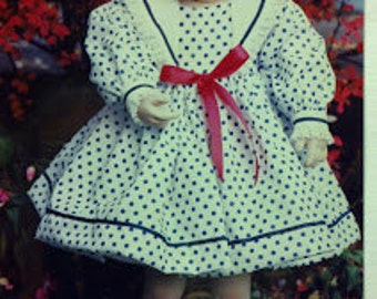 Doll Dress Pattern, BS-56