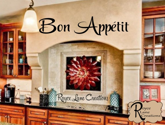 bon appetit kitchen wall decal kitchen wall decal bon