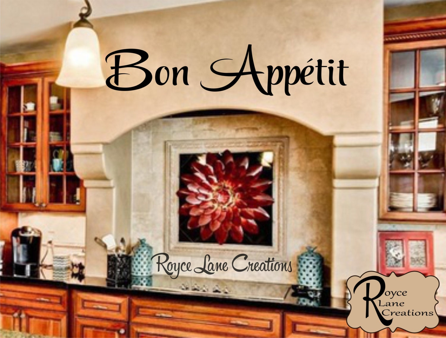 Bon Appetit Kitchen Wall Decal-Kitchen Wall Decal Bon